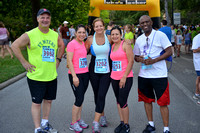 Houston Heights Fun Run: 2013