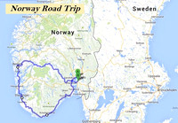 Norway Road Trip - 2013