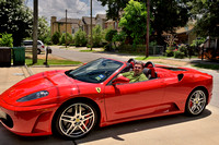 5/21/2014 - Ferrari F430 Spider, Houston, TxNikon D800