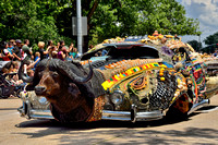 5661 - Art Car Parade in Houston, Texas.