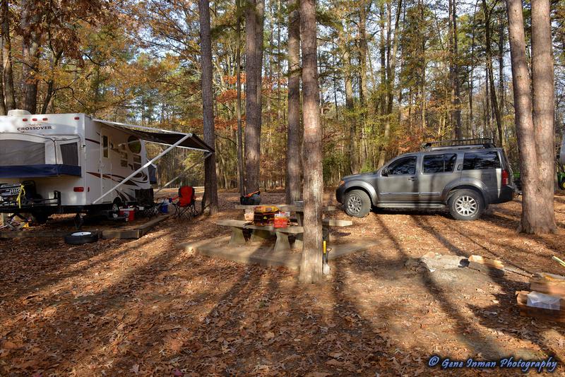11/28/2013 - Camping at  Beaver Lake in  Broken Bow, Ok