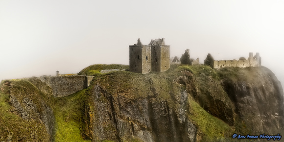 001- Castle in the Fog (the Haar), Stoneheaven Scotland, United Kingdom