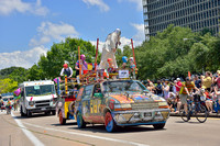 5676 - Art Car Parade in Houston, Texas.