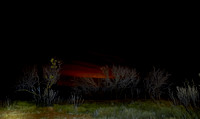 West Texas Night Sky - Flashlight